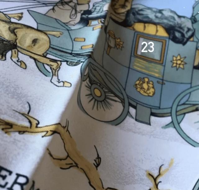 calendrier de l'avent carré hermès merveilles de marie