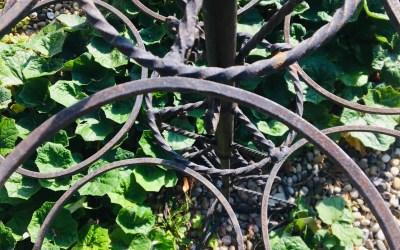 Porte plantes fer forgé