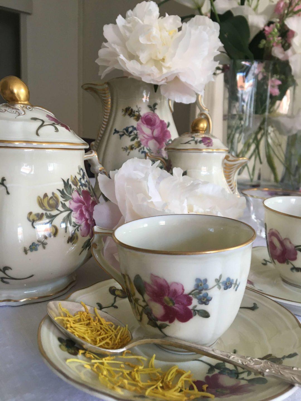 service-à-café-haviland-ancien-fleuri