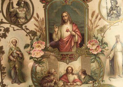 Chromolithographie religieuse