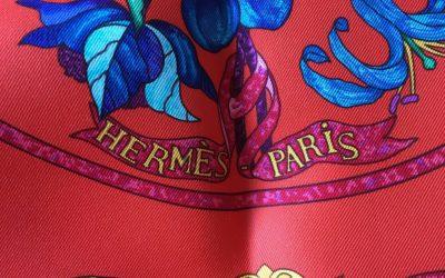 Carré Hermès Pierres d'Orient