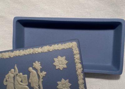Boite bleue Wedgwood