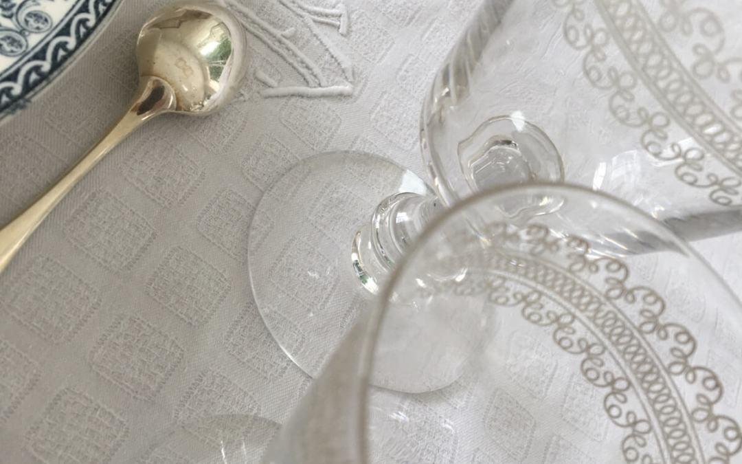 Verres gravés en cristal
