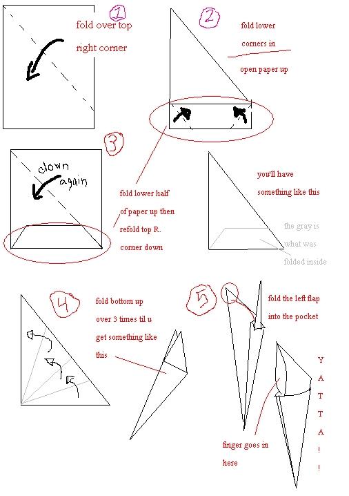 origami finger claw tutorial origami handmade