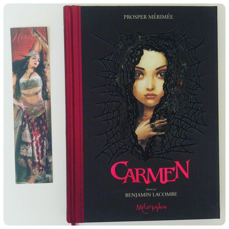 Carmen _ P. Mérimée (illustré par B. Lacombe)