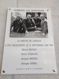les 4 découvreurs de lascaux