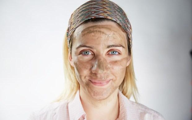 cilt bakımı maskesi