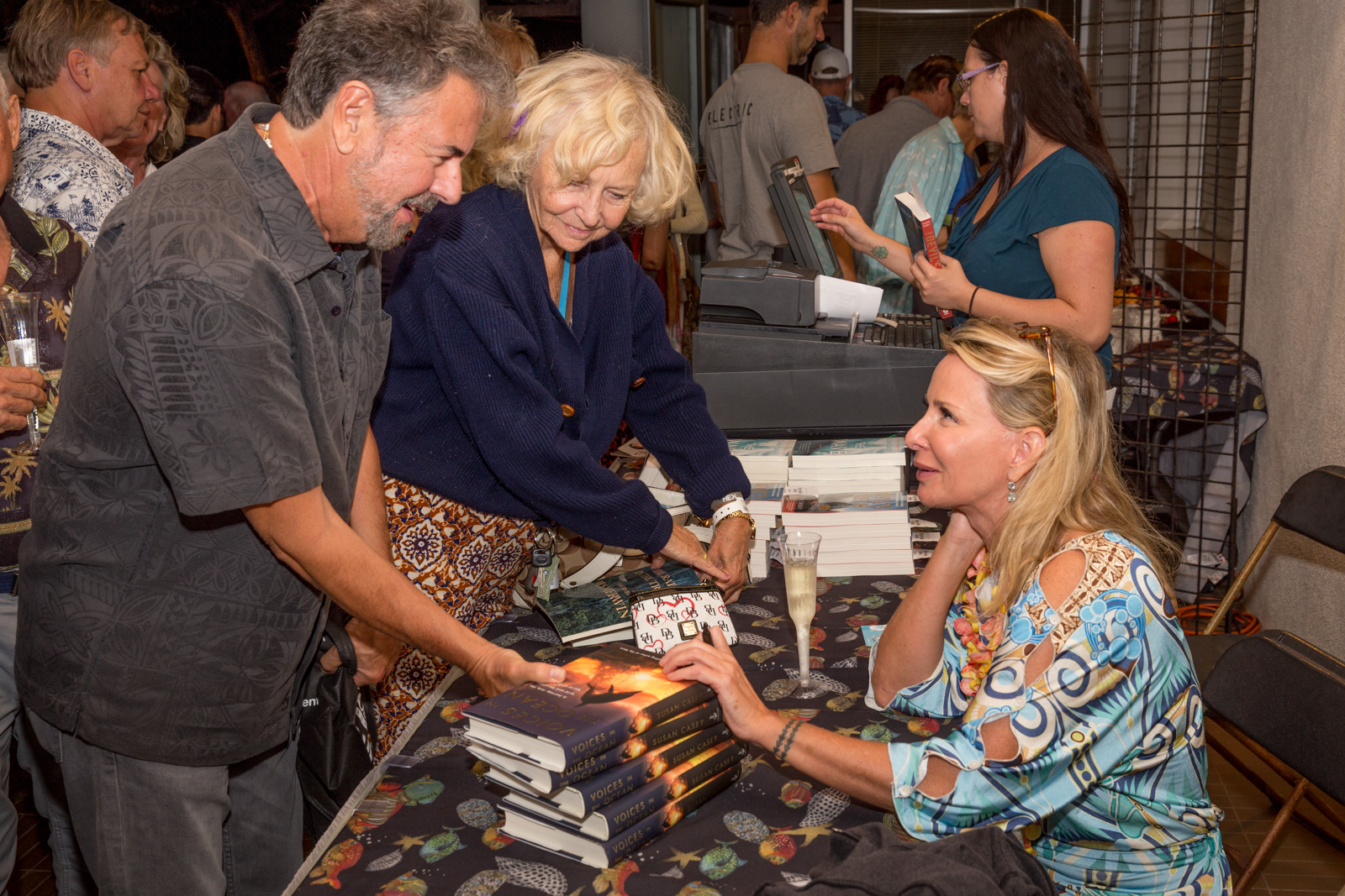 Susan Casey Book Signing at The Green Room