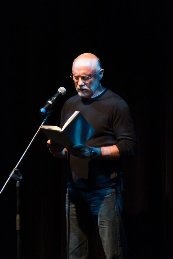 Actor Hector Elizondo reads W.S. Merwin's 'Rain Light'
