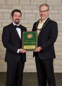 Matt Harris and Jason Denhart - Arbor Day Awards