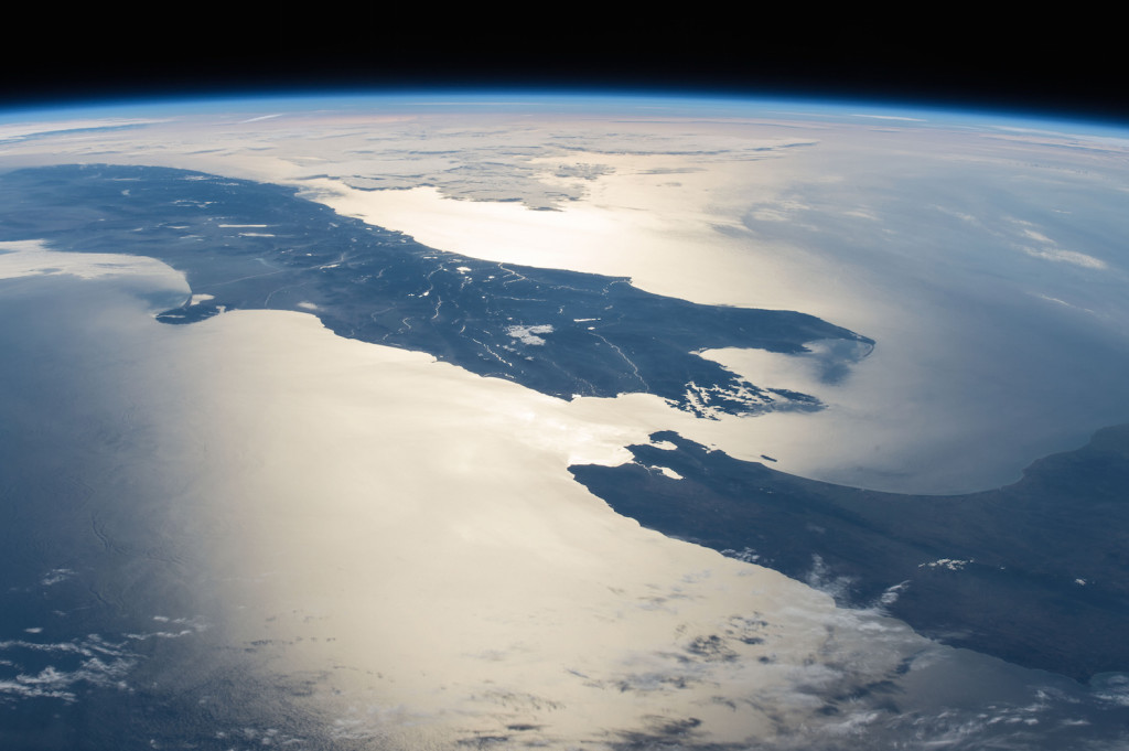 New Zealand in Sunlight - Photo from NASA