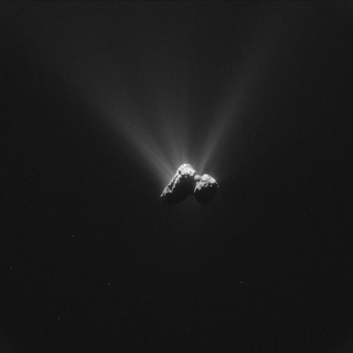 COMET Credit: ESA:Rosetta:NavCam – CC BY-SA IGO 3.0