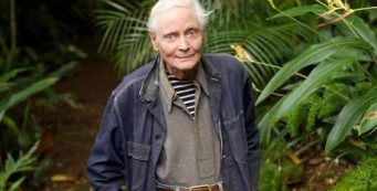 W.S. Merwin by Larry Cameron