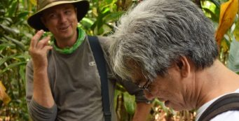 Maui News Reporter/Editor Lee Imada Interviews Olin Erickson, the Merwin's Head Gardener