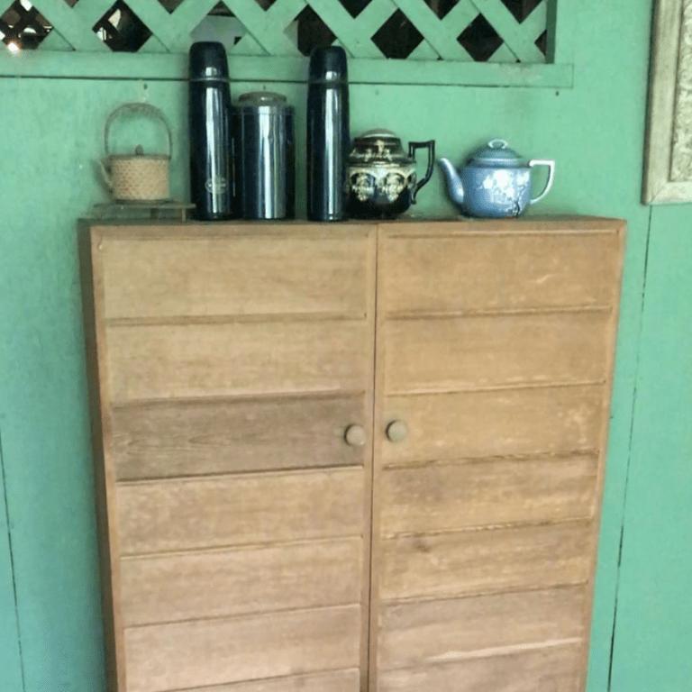 W.S. Merwin's Cedar Tea Cabinet