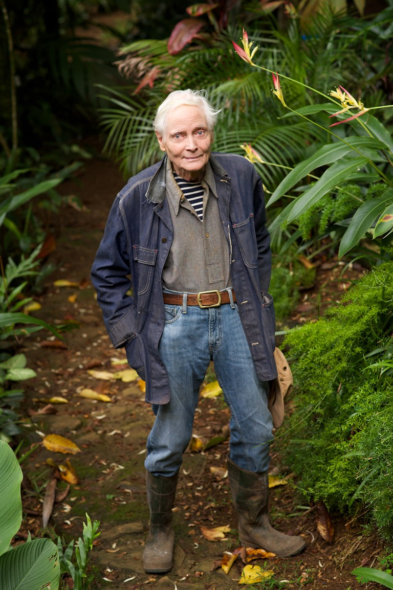 WS Merwin by Larry Cameron