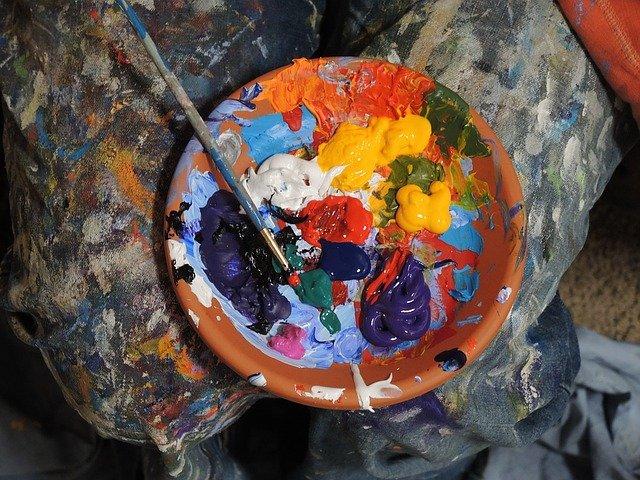 Acrylic-colors-paintings-techniques