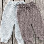 pantalon au crochet pour bébé patron gratuit