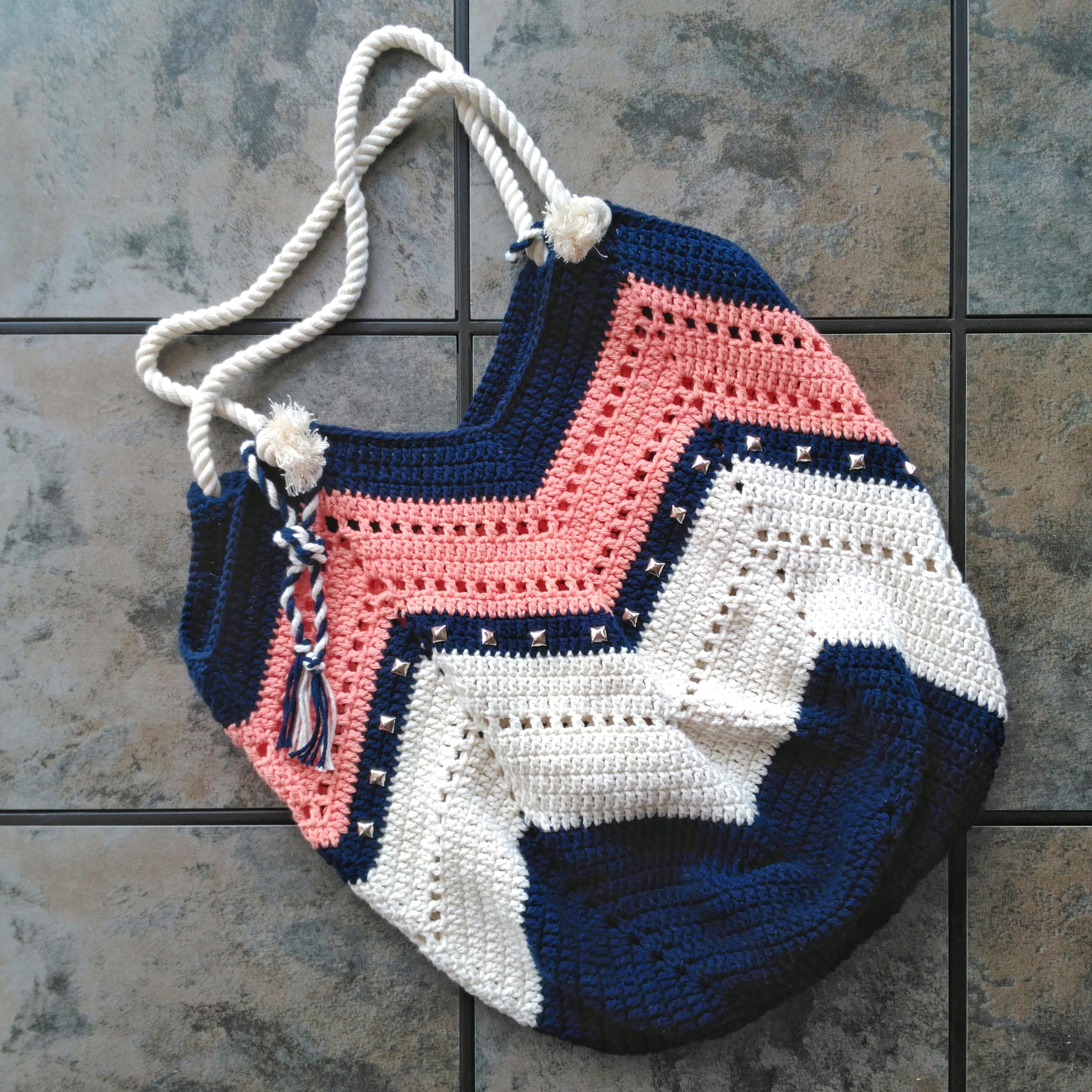 Sac Au Crochet Avec Explications Gratuites Mery Crochet