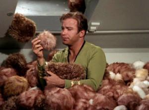 Star Trek Kirk Tribbles