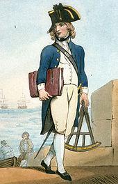 Midshipman 1799 Rowlandson