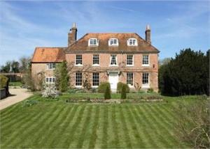 Ibthorpe, Hampshire, the home of the Lloyd family.