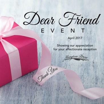 Dear Friend Event