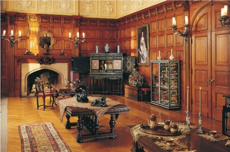 Sitting Room Between the Master and Mistress Bedchambers