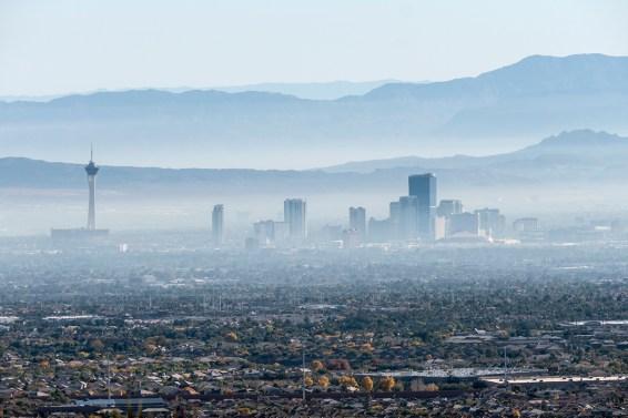 Las Vegas Valley Haze