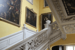 Sudbury Hall-Photo by Janet Taylor Beautiful main staircase inside Pemberley