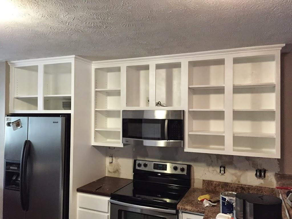 Upper Kitchen Cabinet Build Merzke Custom Woodworking