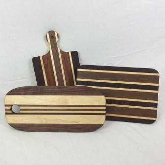 Custom made cutting boards
