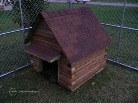 Rustic Dog House