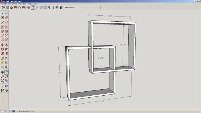 Shelf SketchUp