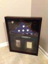 Military Service Shadow Box