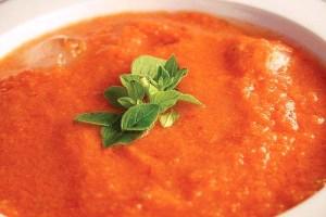 La recette du Gaspacho rapide aux tomates
