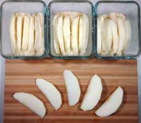 le gouter pomme amande cannelle est pret à cuire