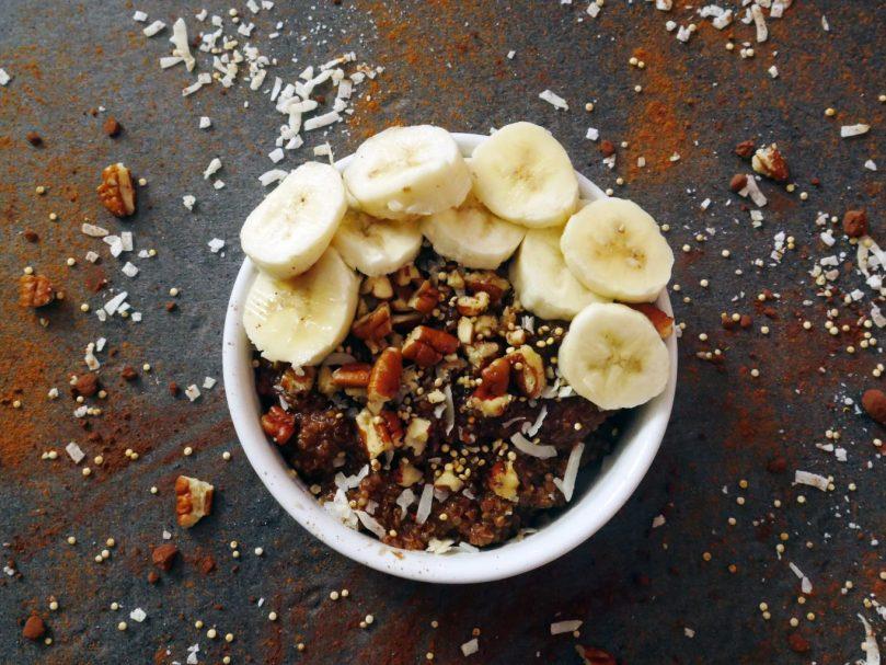 recette healthy porridge quinoa-chocolat