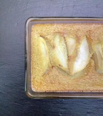 tarte poire amandine sans pâte