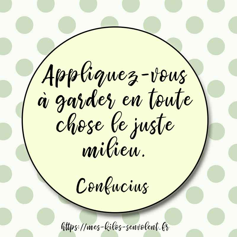 citation confucius equilibre