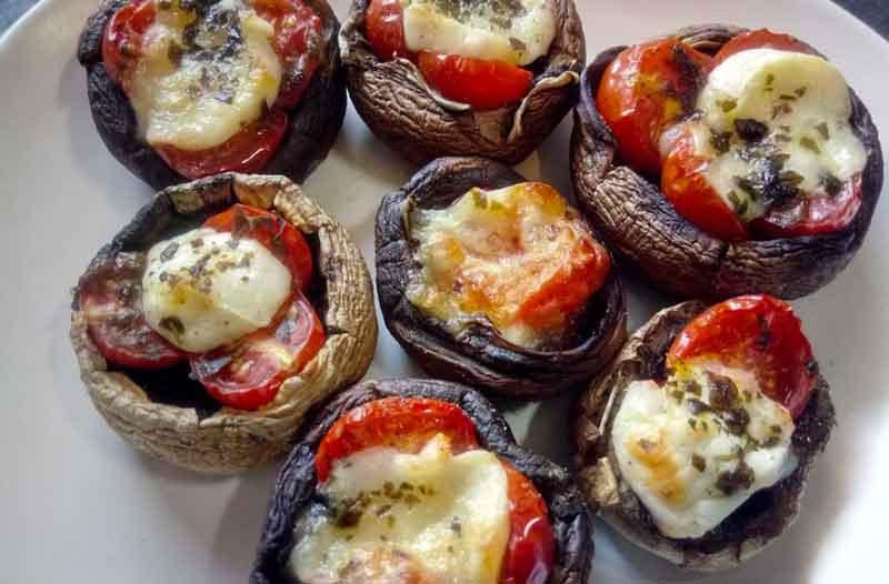 recette champignon farcis
