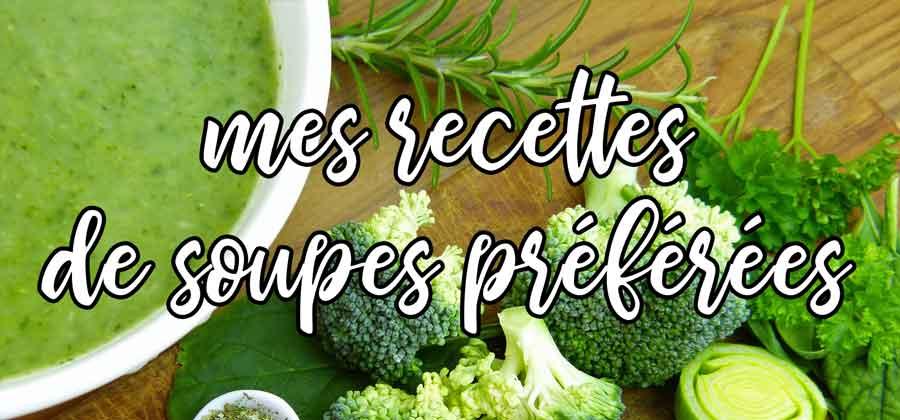 recettes soupe facile