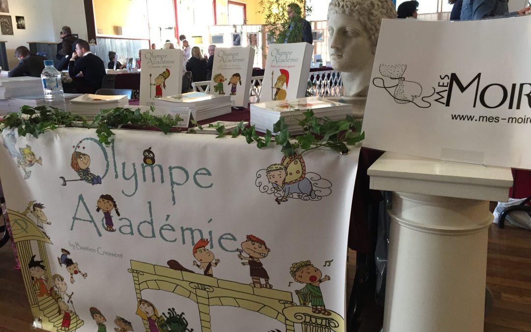 Agenda 2018 pour Olympe Académie et les Editions Mes Moires