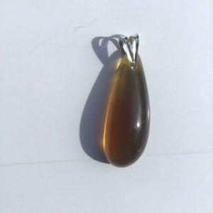 Pendentif ambre naturelle indonésie