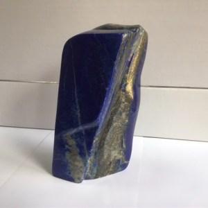 Lapis lazuli semi brut forme libre