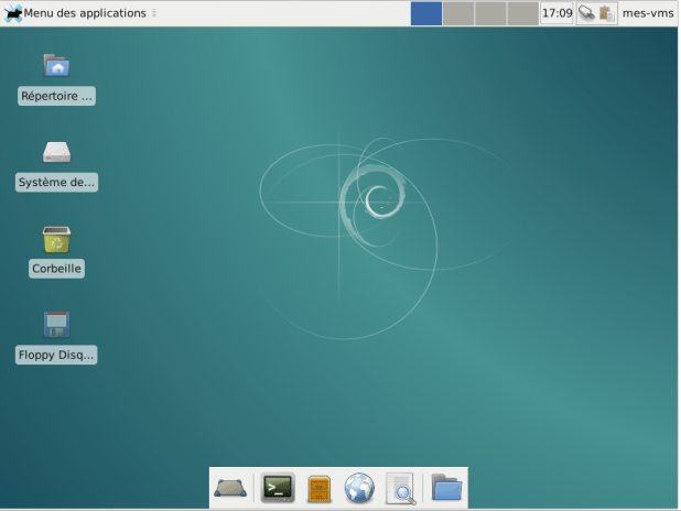 Machine virtuelle - Linux Debian 8.1 32Bits