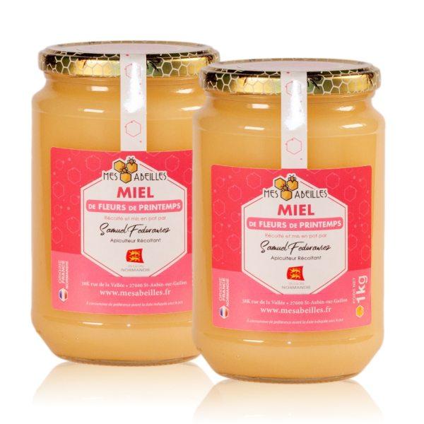Duo de miel de printemps