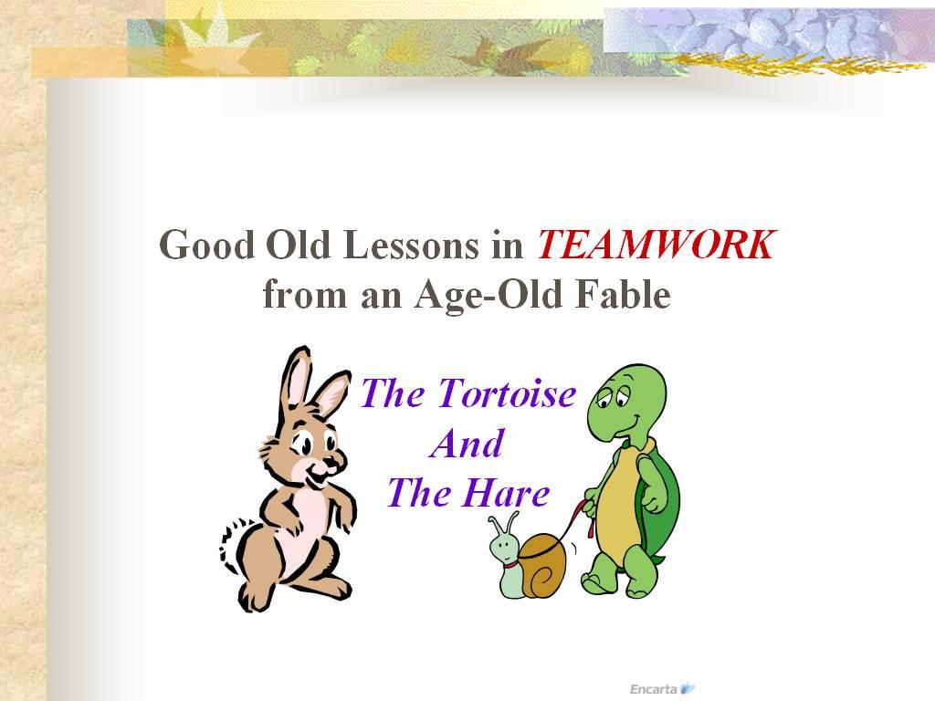 Rabbit Amp Tortoise Story Good Moral In Bulding Stronger