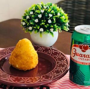 Coxinha sem massa + Guarana (lata)