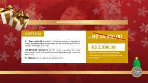 Oferta Insercao especial de Natal